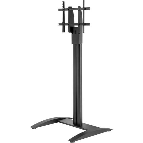 """Peerless-AV SmartMount Flat Panel Floor Stand for 32-75"""" Displays (Black, without Shelf)"""