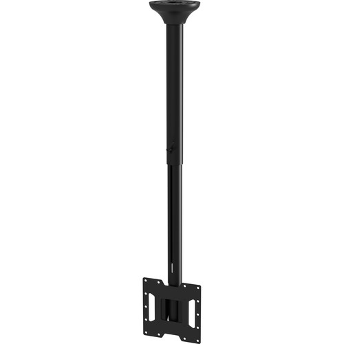 "Peerless-AV SmartMount Ceiling Mount for Displays Up to 40"" (29.8 to 46.91"" Drop, Black)"