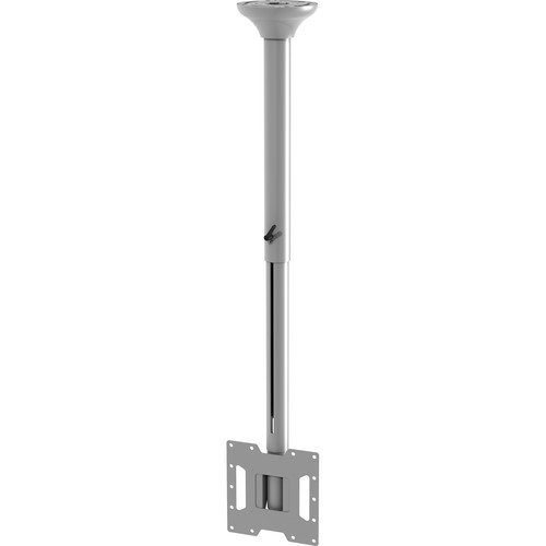 "Peerless-AV SmartMount Ceiling Mount for Displays Up to 40"" (29.8 to 46.91"" Drop, White)"