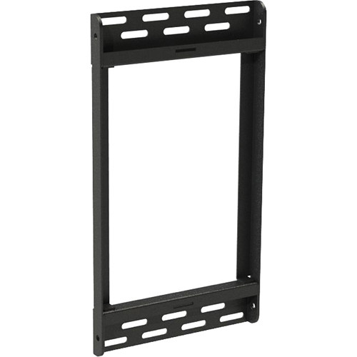 "Peerless-AV 8"" ACC-MB08 Accessory Wall Plate for Peerless-AV QSR Digital Menu Board Mount (Black)"