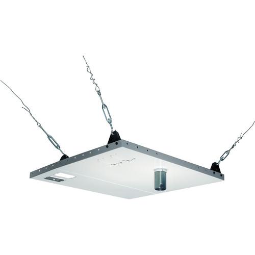 Peerless-AV CMJ453-AW Antimicrobial Two-Piece Suspended Ceiling Kit for Jumbo Mounts (White)