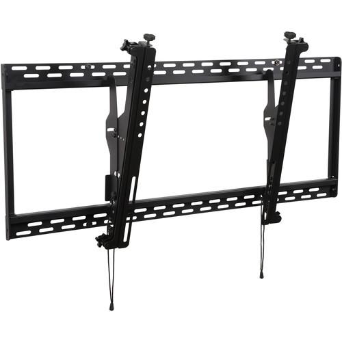 """Peerless-AV DS-MBZ642L Digital Menu Board Mount with 8-Point Adjustment for 40 to 42"""" Displays (Landscape, Black)"""