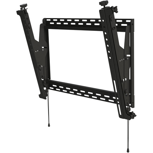 "Peerless-AV DS-MBZ647P Digital Menu Board Mount with 8-Point Adjustment for 42 to 48"" Displays (Portrait, Black)"