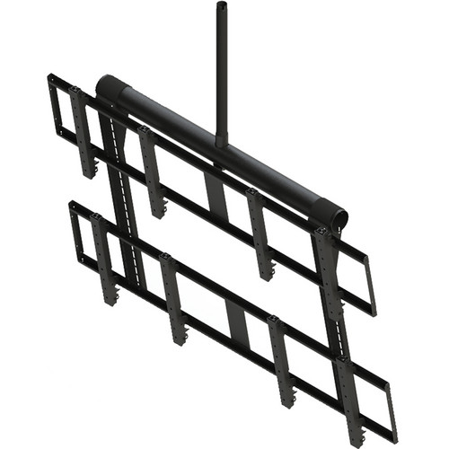 Peerless-AV DS-VWT955-2X2 Digital Signage Video Wall Ceiling Mount (Black)
