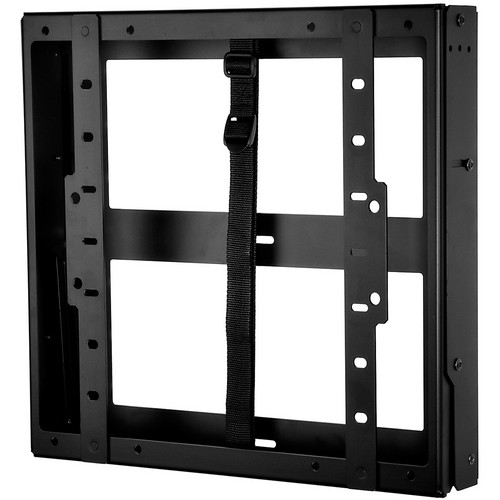 """Peerless-AV DST660 Tilt Wall Mount with Media Device Storage for 40 to 60"""" Displays (Black)"""