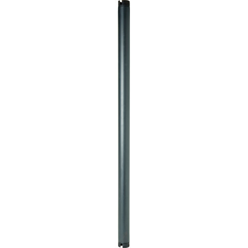 Peerless-AV EXT101-AB Antimicrobial Fixed Extension Column (1', Black)