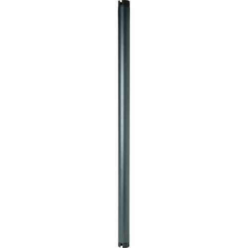 Peerless-AV EXT107-AB 7' Antimicrobial Fixed Extension Column (Black)