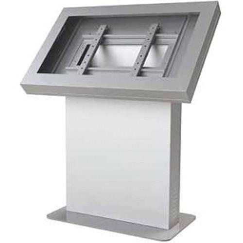 """Peerless-AV KIL540-S Landscape Kiosk Enclosure for 40"""" Displays (Silver)"""