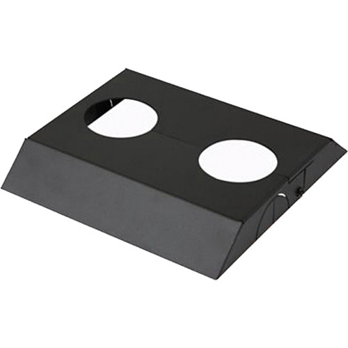 Peerless-AV MOD-ACF2 Modular Dual Pole Ceiling/Floor Plate Cosmetic Cover (Black)