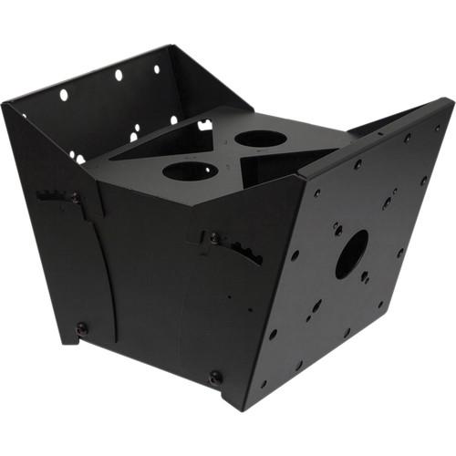 Peerless-AV MOD-FPMD2 Modular Dual Pole Tilt Box (Black)