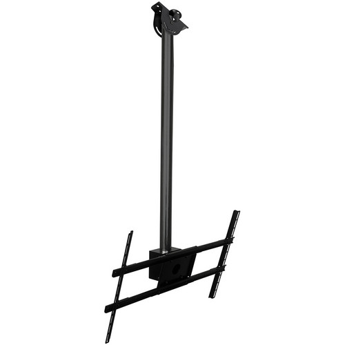 "Peerless-AV Modular Series Ceiling Mount Kit for 39 to 75"" Flat-Panel Displays (5', Black)"