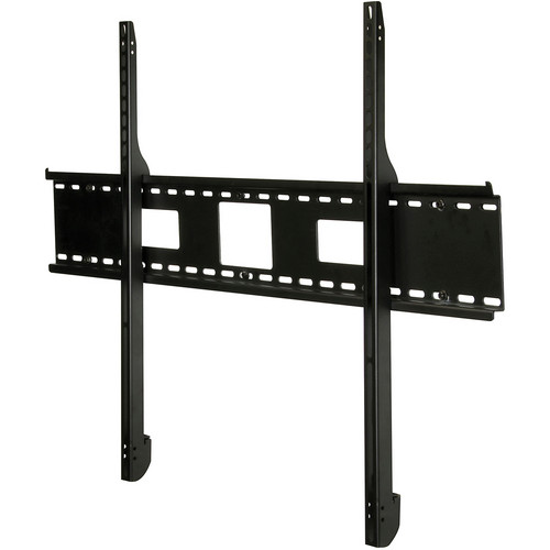 "Peerless-AV Antimicrobial Universal Flat Wall Mount for 61 to 102"" Flat Panel Displays (Black)"