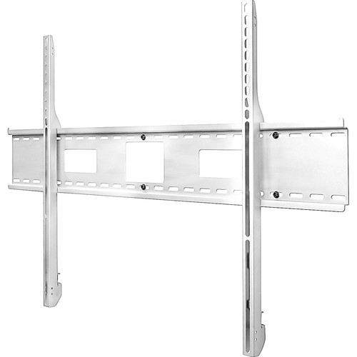 "Peerless-AV Antimicrobial Universal Flat Wall Mount for 61 to 102"" Flat Panel Displays (White)"