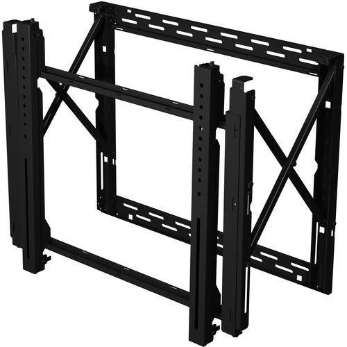 "Peerless-AV SmartMount DS-VW795-QR Full Service Video Wall Mount for 65 to 95"" Displays (Black)"