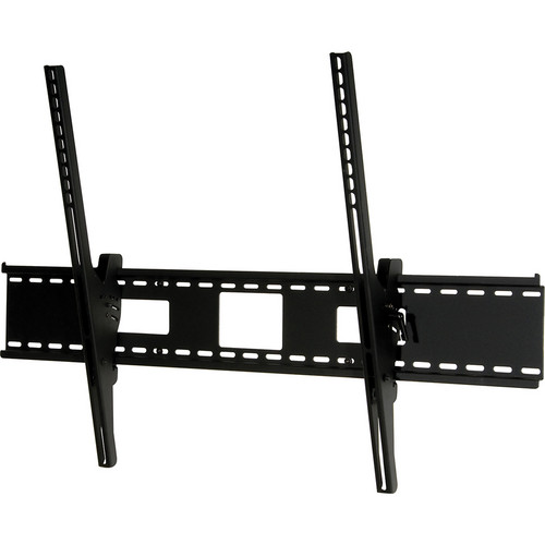 "Peerless-AV ST680-AB Tilt Wall Mount with Antimicrobial Finish for 60 to 95"" TVs (Black)"