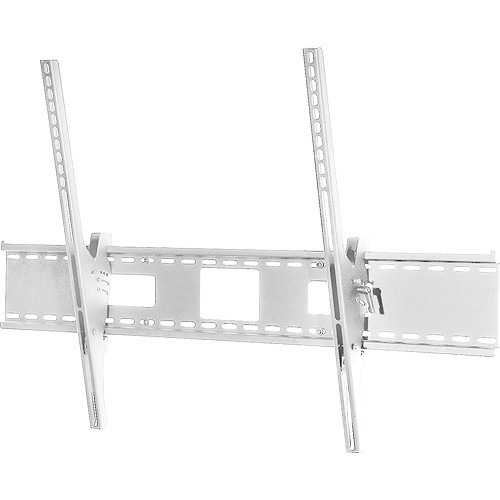 "Peerless-AV ST680-AW Tilt Wall Mount with Antimicrobial Finish for 60 to 95"" TVs (White)"