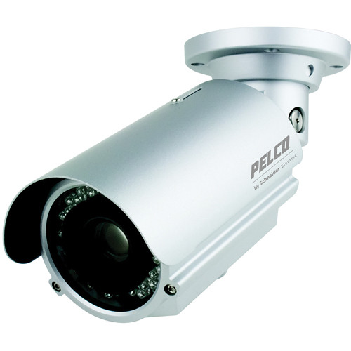 Pelco 650 TVL WDR DSS Day & Night Long-Range Integrated Outdoor IR Bullet Camera (PAL)