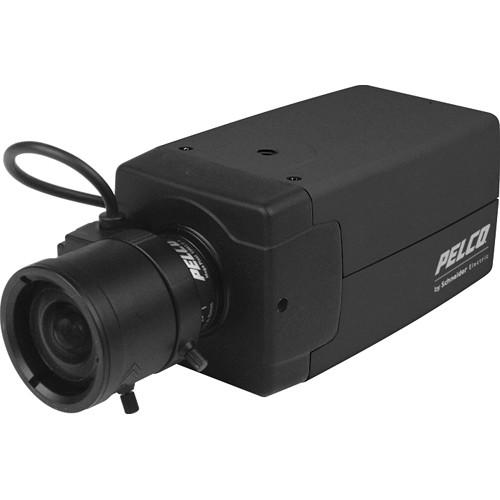 Pelco 650 TVL True Day/Night WDR Dual Voltage Analog Box Camera (PAL, No Lens)