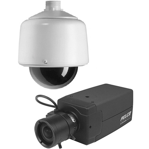 Pelco DF8 DomePak with Environmental Pendant Mount Dome, Analog Camera, & 2.8-11mm CS-Mount Lens (NTSC)