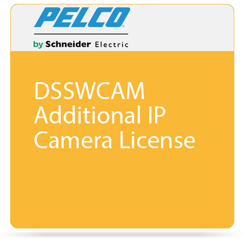 Pelco DSSWCAM Additional IP Camera License