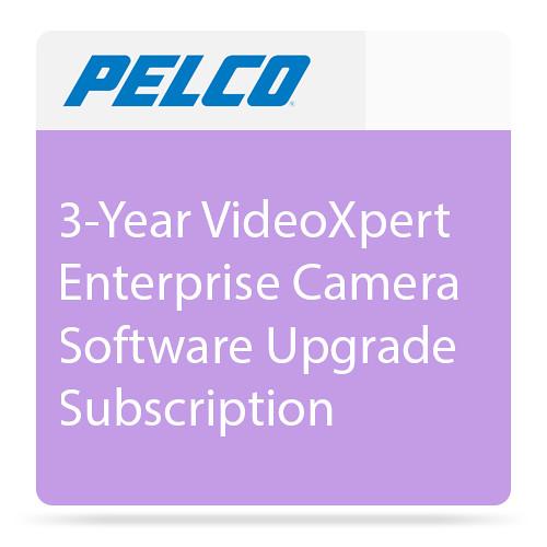 Pelco E1-1C-SUP3 3-Year VideoXpert Enterprise Camera Software Upgrade Subscription