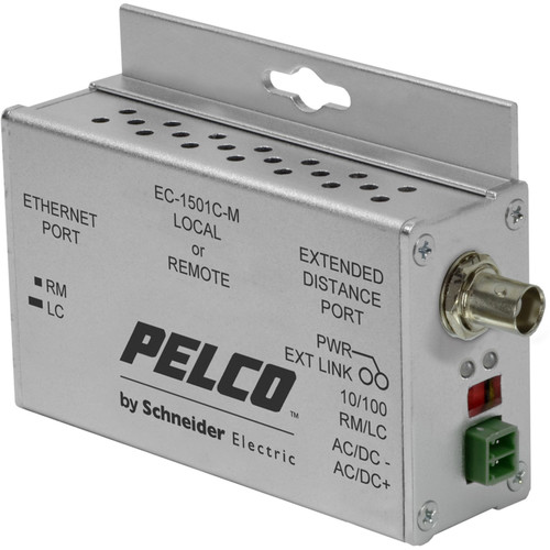 Pelco EthernetConnect EC-1501C-M 1-Port Ethernet over Coaxial Extender Local/Remote Unit