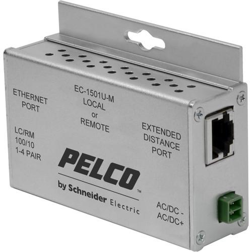 Pelco EthernetConnect EC-1501U-M 1-Port Ethernet over UTP Extender Local/Remote Unit