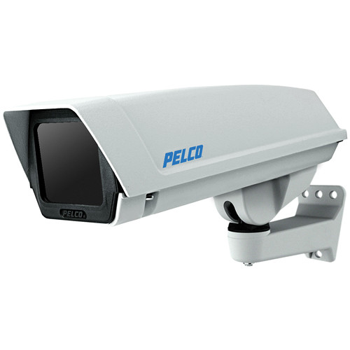 Pelco EH16 Series Indoor/Outdoor IP-Enabled Enclosure with Feedthrough Wall Mount for Sarix Series Cameras