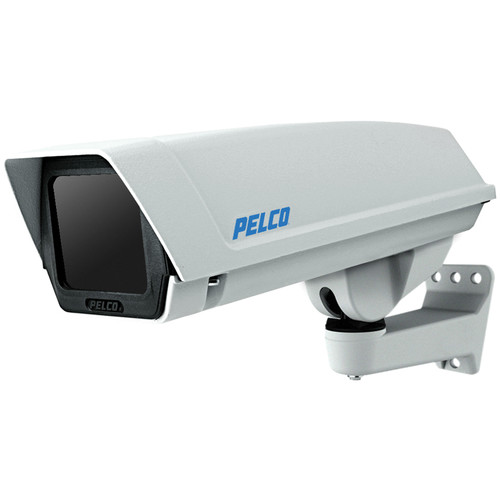 Pelco EH16 Indoor/Outdoor IP-Enabled Enclosure with PoE Input and Feedthrough Wall Mount for Sarix Series Cameras
