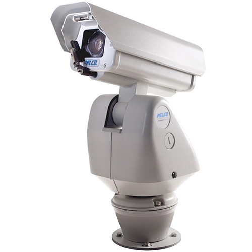Pelco Esprit HD Series ES5230-12WP Wall Mount IP Positioning System with Pressurized Integrated Optics Cartridge & Wiper (NTSC, 24 VAC)
