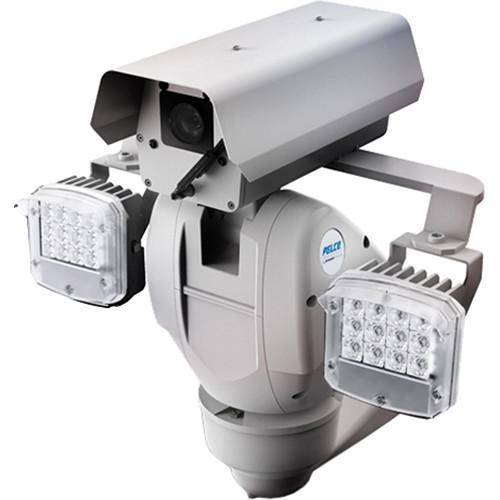 Pelco Esprit Enhanced 1080P Camera - Pressurized with Wiper and 200m IR (48VDC, US)