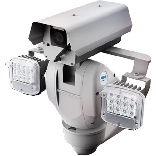 Pelco Esprit Enhanced Camera - Pressurized with wiper and 200m IR