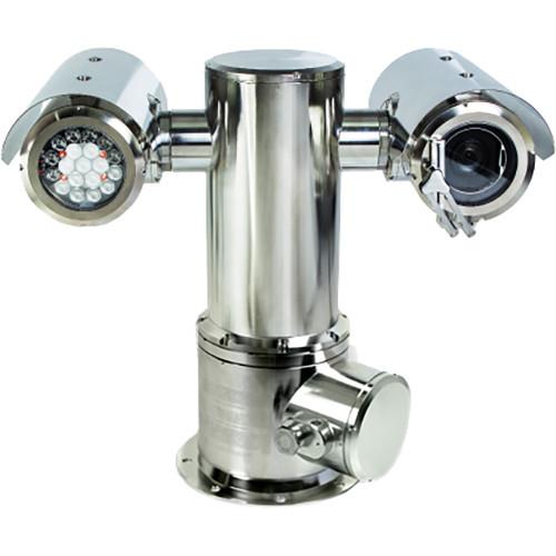 Pelco ExSite Enhanced EXP1230-7M 2.1MP Explosionproof PTZ Network Bullet Camera with IR Illuminators
