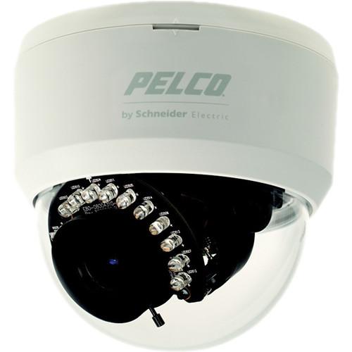 Pelco FD1 Series 540 TVL Dome Camera with Night Vision & 3-9mm Varifocal Lens