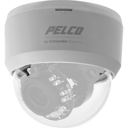 "Pelco FD2DWV106X 1/3"" CCD 650 TVL WDR True Day & Night Indoor Dome Camera with 2.8 to 10.5mm Varifocal Lens (PAL)"
