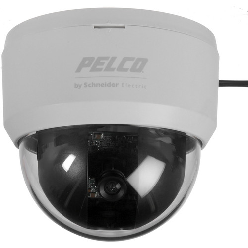 "Pelco FD2F46 1/3"" CCD 650TVL High-Resolution Day & Night Color Fixed Dome Camera (NTSC)"