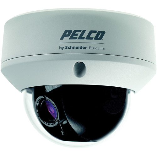 Pelco FD5 Environmental Outdoor True Day/Night Fixed Dome Camera with 2.8 to 10.5mm Lens (PAL)