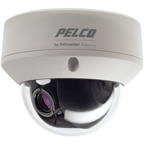 Pelco FD5 Environmental FD5-DWV10-6 Outdoor True Day/Night Fixed Dome Camera with 2.8 to 10.5mm Lens (NTSC)