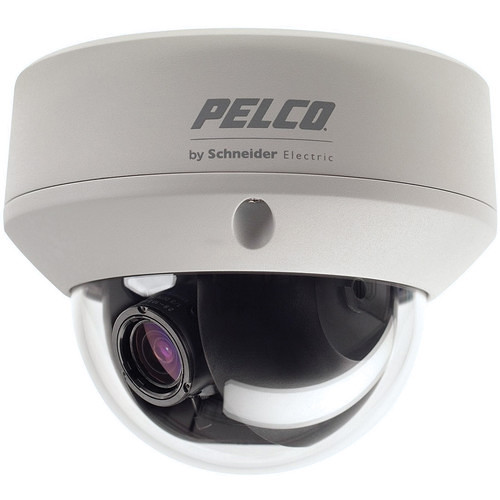 Pelco FD5 Environmental FD5-DWV22-6 Outdoor True Day/Night Fixed Dome Camera with 9 to 22mm Lens (NTSC)