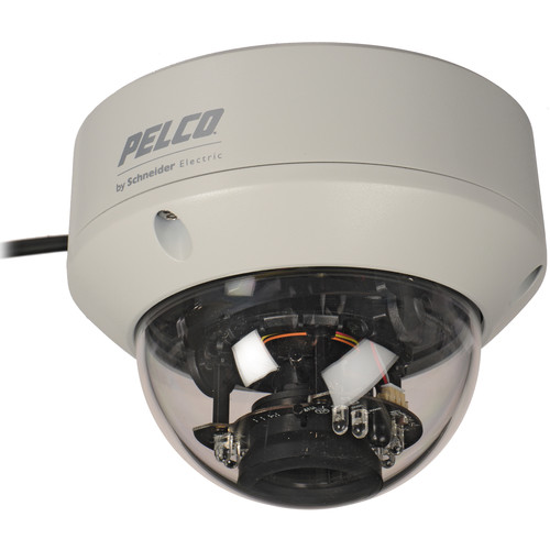 Pelco FD5 Series 650 TVL Day/Night IR Fixed Dome Outdoor Camera with 2.8 to 10.5mm Varifocal Lens