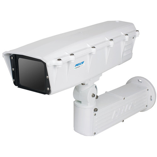 Pelco FH-HI Series Fortified IP Integrated Camera System with Sarix IXE21 2MP PoE Box Camera and 15-50mm Lens in High-Temperature Enclosure
