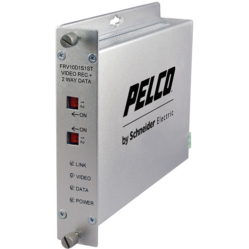 Pelco FRV10D1S1ST Fiber Receiver with ST Connector