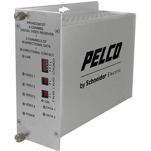 Pelco FRV40D2M1ST Fiber Receiver