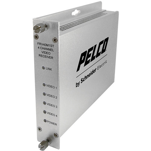 Pelco FRV40M1ST 4-Channel Fiber Receiver