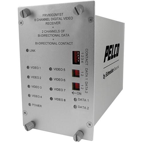 Pelco FRV80D2M1ST Fiber Receiver