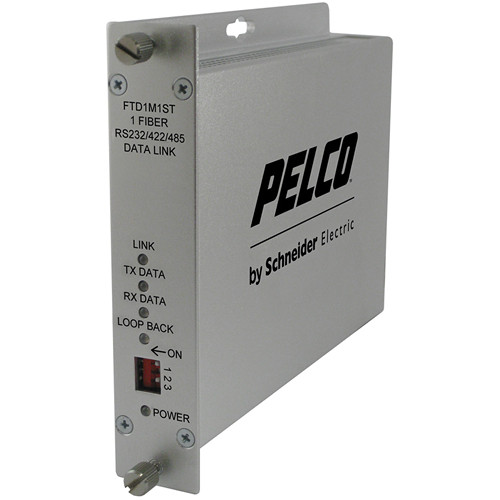 Pelco FTD1 1-Channel Multimode ST Fiber Transmitter