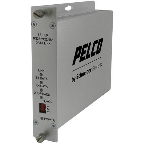 Pelco 1-Channel Single Mode ST Fiber Transmitter