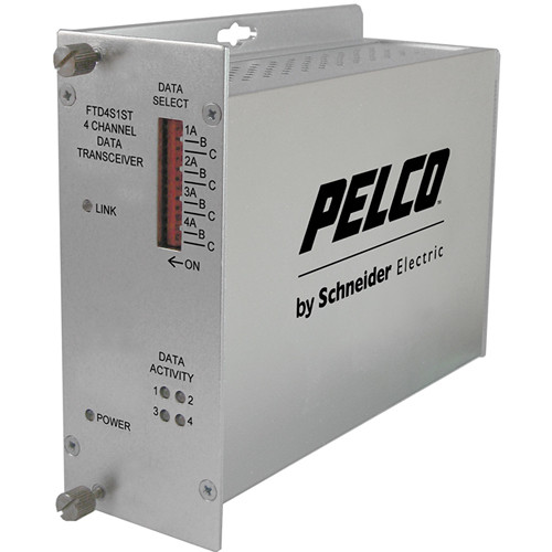 Pelco FRD4 4-Channel Single Mode ST Transmitter