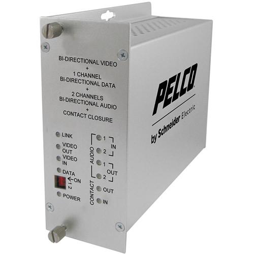 Pelco FTV10D1A2M1ST Fiber Transmitter
