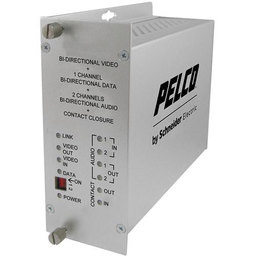 Pelco FTV10D1A2S1ST Fiber Transmitter